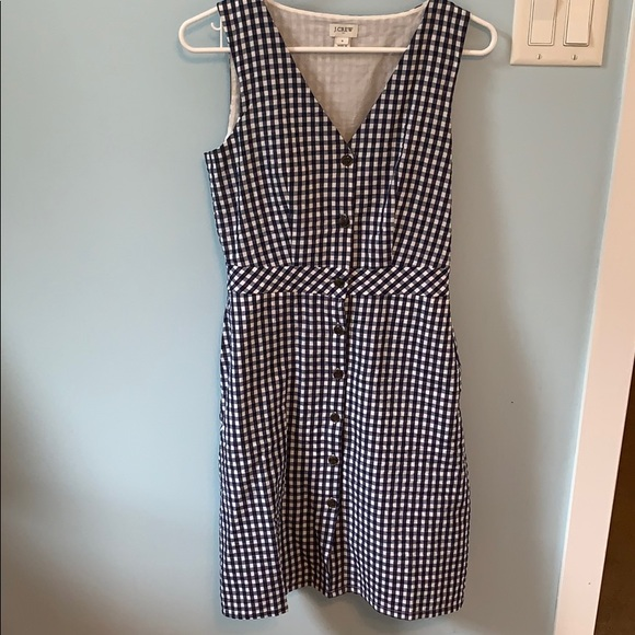 J. Crew Dresses & Skirts - J.Crew Button Down Gingham Dress